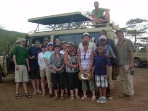 Lori and Family on Safari in Tanzania, with Safariland Adventures